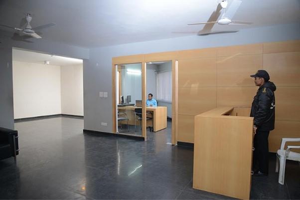 SECURITY at kcc hostels